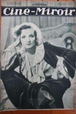 1931 Marlene Dietrich Charles Chaplin John Barrymore