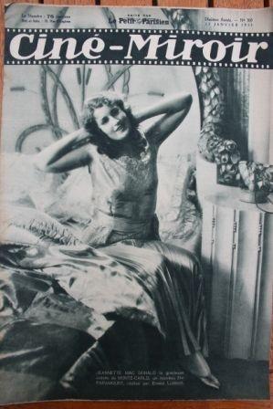 1931 Jeanette MacDonald Joan Bennett Ivan Petrovich