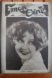 1930 Nancy Carroll Lewis Stone Stan Laurel Oliver Hardy