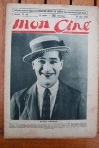 1923 Maurice Chevalier Roger Karl Nita Naldi