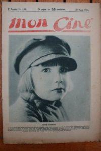 1924 Jackie Coogan Bert Lytell Claire Windsor