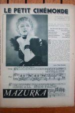 1936 Pola Negri Albrecht Schoenhals Mazurka