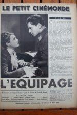 1936 Annabella Charles Vanel Jean Murat L'equipage