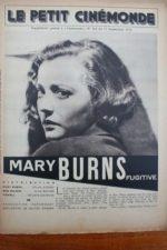1936 Sylvia Sidney Melvyn Douglas Alan Baxter