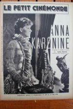 1936 Greta Garbo Fredric March Anna Karenine