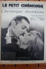 1936 Constance Bennett Clark Gable After Office Hours