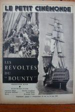 1936 Charles Laughton Clark Gable Mutiny on the Bounty