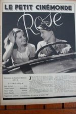 1936 Jean Servais Lisette Lanvin Sylvia Bataille Rose