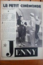 1936 Francoise Rosay Albert Prejean Lisette Lanvin
