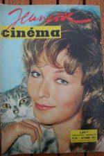 1961 Marina Vlady Romy Schneider 3:10 to Yuma Cassel