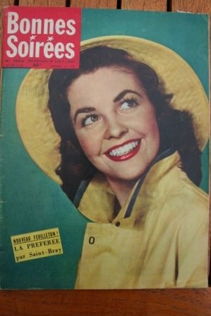 1957 Vintage Magazine Deborah Kerr Annie Girardot