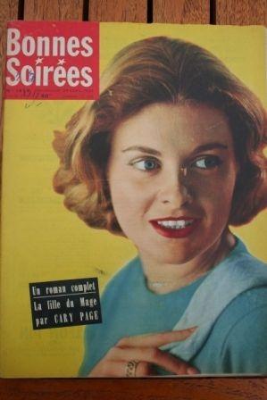 1957 Vintage Magazine Danielle Darrieux Bob Hope