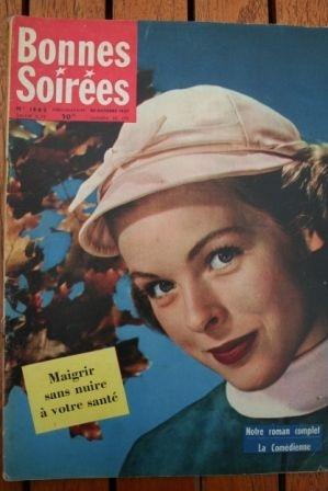 1957 Vintage Magazine Charles Aznavour