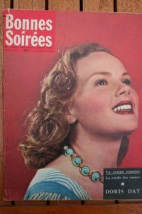 1957 Vintage Magazine Doris Day