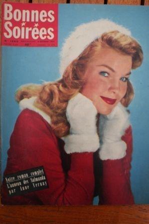 1957 Vintage Magazine Anthony Perkins