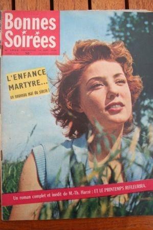 1958 Vintage Magazine Robert Mitchum