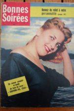 1958 Vintage Magazine Simone Renant