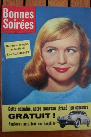 1958 Vintage Magazine Haroun Tazieff