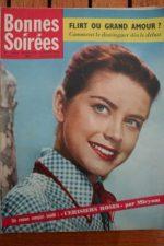 1958 Vintage Magazine Belinda Lee