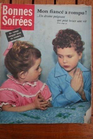 1959 Vintage Magazine Audrey Hepburn