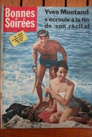 1959 Magazine Yves Montand Tony Curtis Jack Lemmon