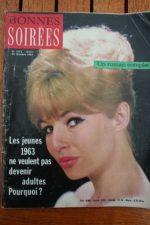 1963 Magazine Annette Stroyberg Vadim Johnny Hallyday