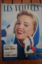 1960 Vintage Magazine Gerard Philipe