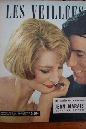1960 Vintage Magazine Le Bossu Jean Marais