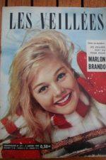 1960 Vintage Magazine Marlon Brando