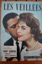 1960 Vintage Magazine Gary Cooper