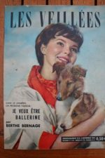 1960 Vintage Magazine Romy Schneider Jean Claude Pascal
