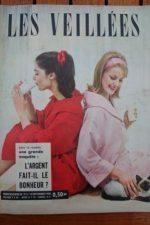 1960 Vintage Magazine Eddie Constantine