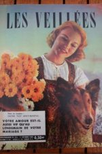 1960 Vintage Magazine Leslie Caron