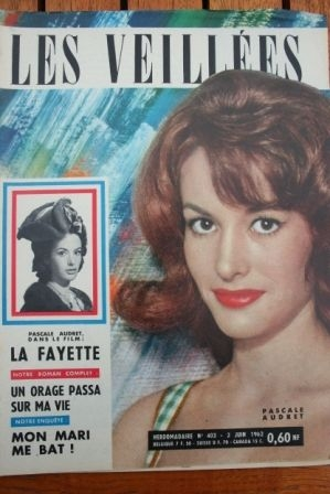 1962 Vintage Magazine Jack Hawkins La Fayette