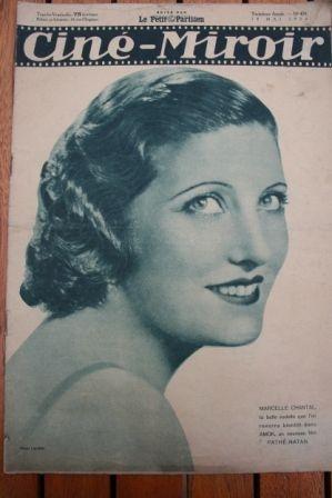 1934 Marcelle Chantal Mireille Balin Jose Noguero