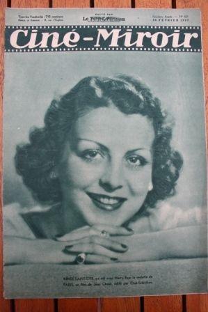 1937 Renee Saint Cyr Claude May Tarzan Escapes