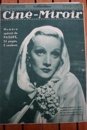 1937 Marlene Dietriech Simone Simon Sabu Errol Flynn