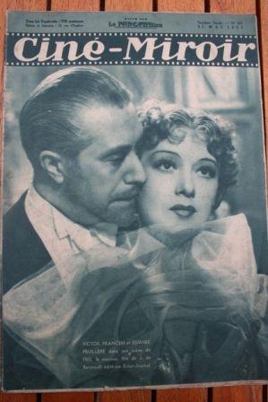 1937 Conrad Veidt Vivien Leigh Hans Albers Suzy Prim