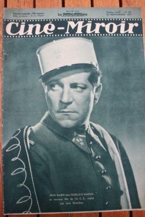 1937 Jean Gabin Mireille Balin John Boles Vera Korene