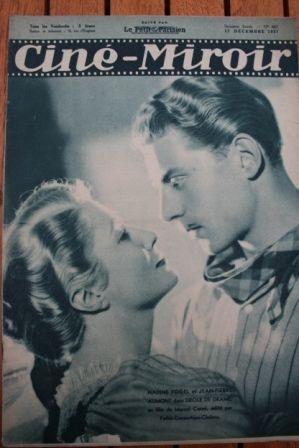 1937 Jean Pierre Aumont Yvette Chauvire Huguette Duflos