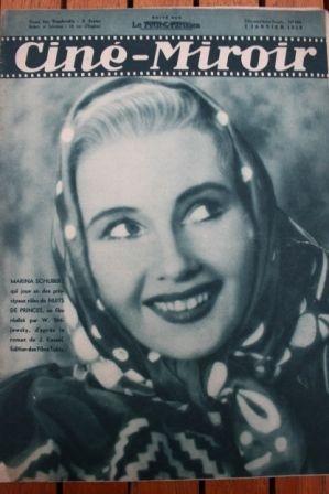 1938 Lil Dagover Kate de Nagy Gaby Morlay Conrad Veidt