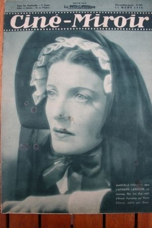 1938 Greta Garbo Charles Boyer Marcelle Chantal