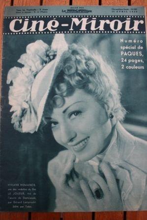 1938 Viviane Romance Michele Morgan Bob Burns