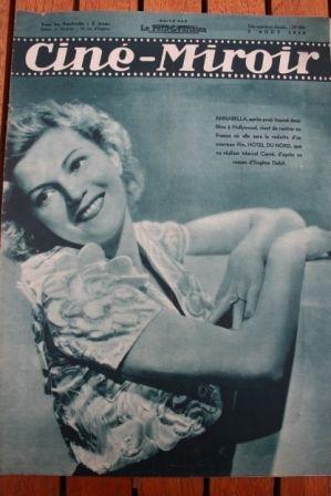 1938 Annabella Paul Robeson Randolph Scott Irene Dunne