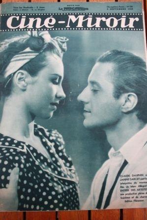 1938 Simone Simon Lloyd Nolan Claude Dauphin Don Ameche