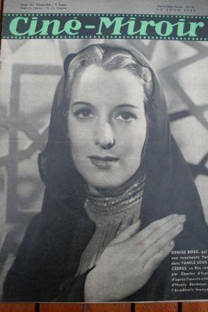 1939 Jean Gabin Arletty Olivia de Havilland Denise Bosc