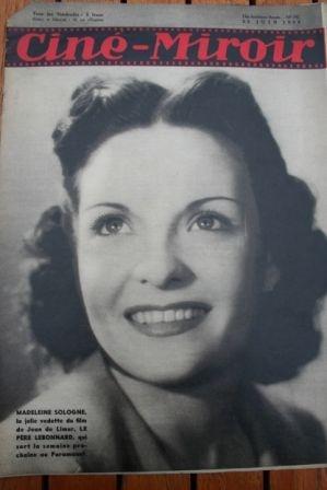1939 Stagecoach Joan Fontaine Fernandel Arletty