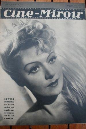 1939 Shirley Temple Edwige Feuillere Joan Blondell