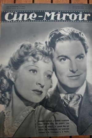1940 Greer Garson Merle Oberon James Stewart