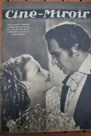 1940 Lilian Harvey Louis Jouvet Fernandel Norma Shearer